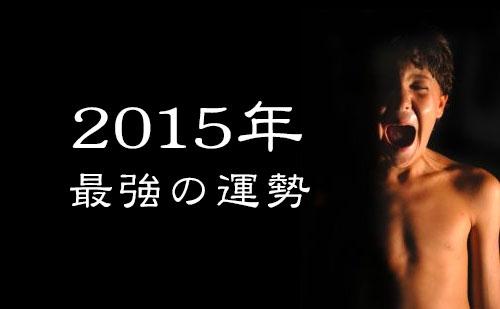 2015年運勢
